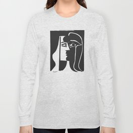 Pablo Picasso Kiss 1979 Artwork Reproduction For T Shirt, Framed Prints Long Sleeve T-shirt