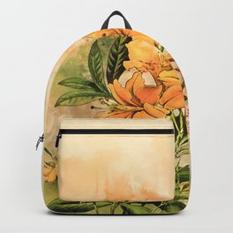 Growing Up #floral #society6 #watercolor Backpack