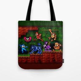 Megaman Woodman Tote Bag