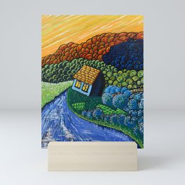 Blueberry Hill Mini Art Print