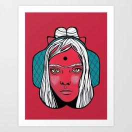 Queen Margot Art Print