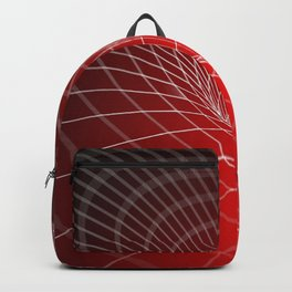 3D Neural Net Sphere Globus Gravitational Web Ultra HD Backpack