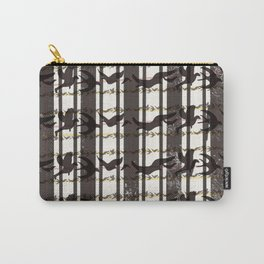 bird plaid Carry-All Pouch