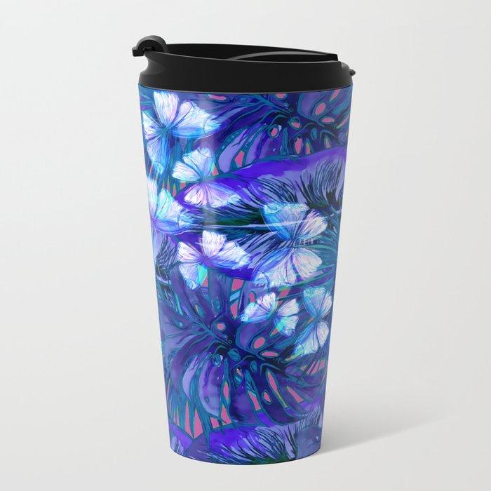 My Tropical Garden 7 Metal Travel Mug
