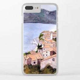 Bokakotorska, Yugoslavia Clear iPhone Case