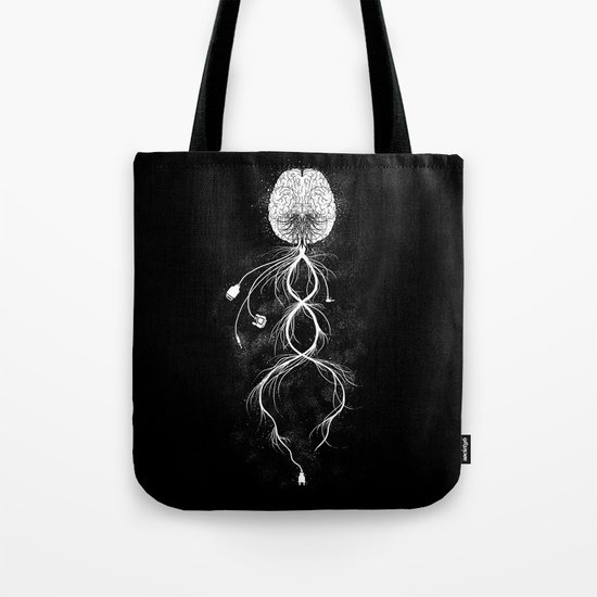 Looking for Connection  Tote Bag