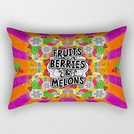 Fruits, Berries, & Melons Rectangular Pillow