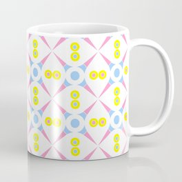 Symmetric patterns 140 Pink and blue Coffee Mug