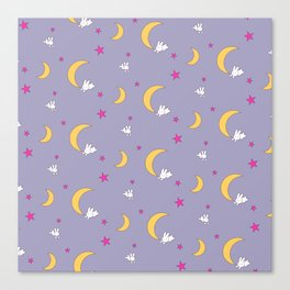 Usagi Tsukino Sheet Duvet - Sailor Moon Bunnies V2 Canvas Print