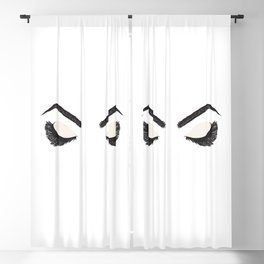 Artisan Lashes & Brows Blackout Curtain