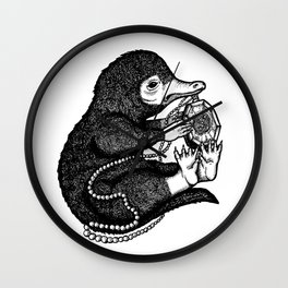 The Niffler & The Horcrux Wall Clock