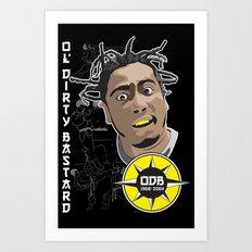 Russell 'ODB' Jones Art Print