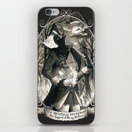 Portrait: Headless Horseman (Sleepy Hollow) iPhone Skin