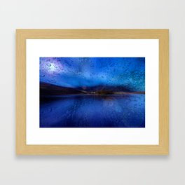 Concept Bavaria : Lake Schliersee Framed Art Print