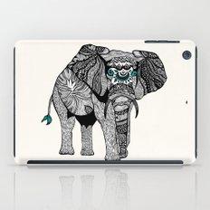 Tribal Elephant Black and White Version iPad Case