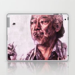 Mr. Miyagi from Karate Kid Laptop & iPad Skin