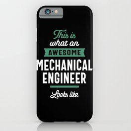 Mechanical Engineer Job Title Gift iPhone Case