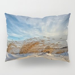 Snow Dunes Pillow Sham