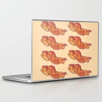 bacon Laptop & iPad Skins featuring Bacon by Spooky Dooky