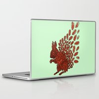 squirrel Laptop & iPad Skins featuring Squirrel by Julia Kisselmann