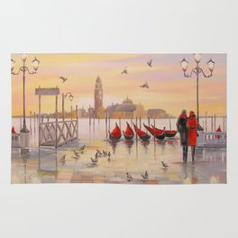 Morning in Venice Rug