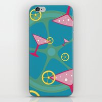 cocktail iPhone & iPod Skins featuring cocktail by vitamin