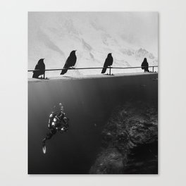 IN SEARCH OF... Canvas Print