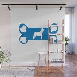 I Love my Dog Wall Mural
