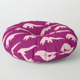 Pink Pangolins Floor Pillow