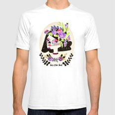 Day of the Beautiful Dead  Mens Fitted Tee SMALL White