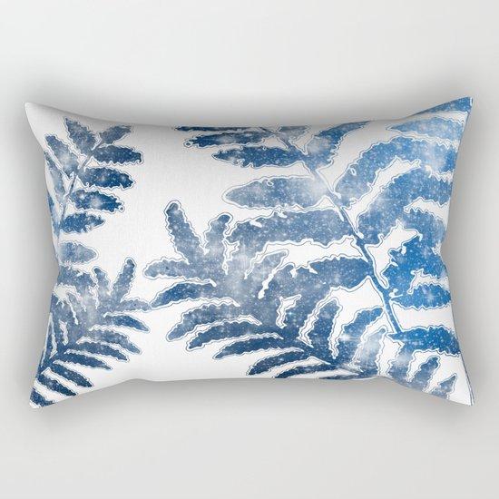 Twilight Leaves Rectangular Pillow