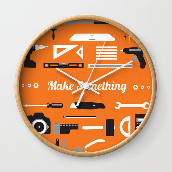 Make Something! Wall Clock