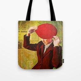 Red Beret Tote Bag