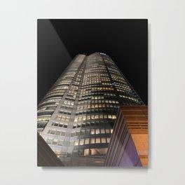 Roppongi Hills Mori Tower Metal Print