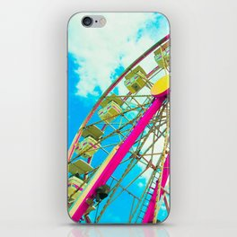 Candy Colored Ferris Wheel iPhone Skin