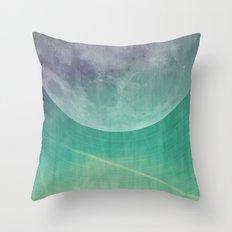 Lunar Radiation Throw Pillow