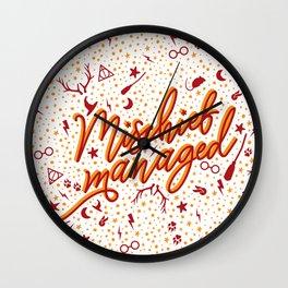 Mischief Managed v2 Wall Clock