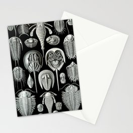 Trilobites and Fossils by Ernst Haeckel Stationery Cards