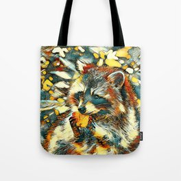 AnimalArt_Raccoon_20170601_by_JAMColorsSpecial Tote Bag