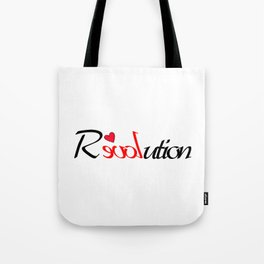 Rloveution Tote Bag