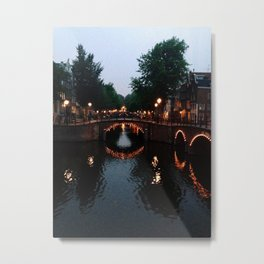 Venice of the North Metal Print