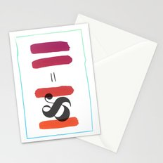 1 & 1 Stationery Cards