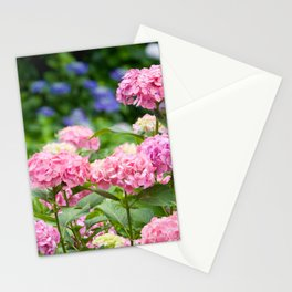 Pink & Lavender Flower Clusters Stationery Cards