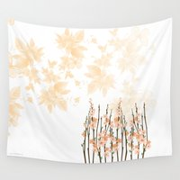 Flowers in Paradise Wall Tapestry