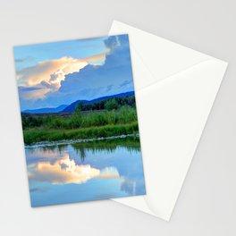 Snake River Reflection - Grand Teton National Park - Wyoming Stationery Cards