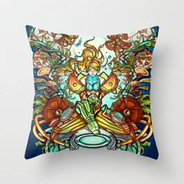 Maternal Instinct Throw Pillow