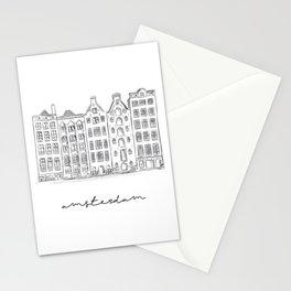 amsterdam - fine art Stationery Cards
