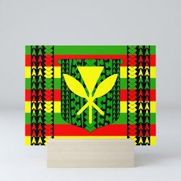 Tribal Kanaka Maoli Mini Art Print