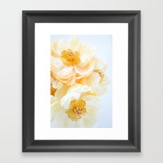Honeybee Paradise Framed Art Print