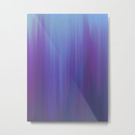 Violet Chromatic Metal Print